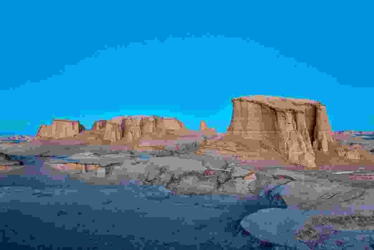 The Dasht-i-Lut Desert, Iran (Dreamstime)