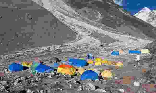 Everest base camp (Dreamstime)