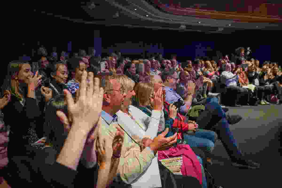 And it really was a full house of supporters, Wanderlust readers and travel fans on the night... (Victoria Middleton)