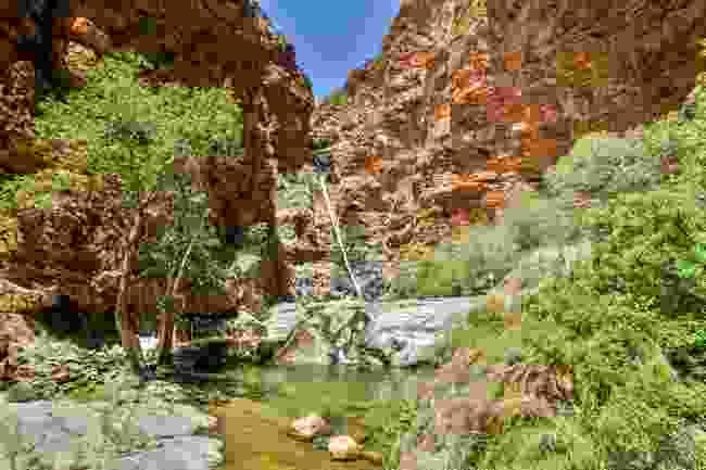Meiringspoort Waterfall in the Swartberg Mountain range, near Karoo, South Africa (Shutterstock)