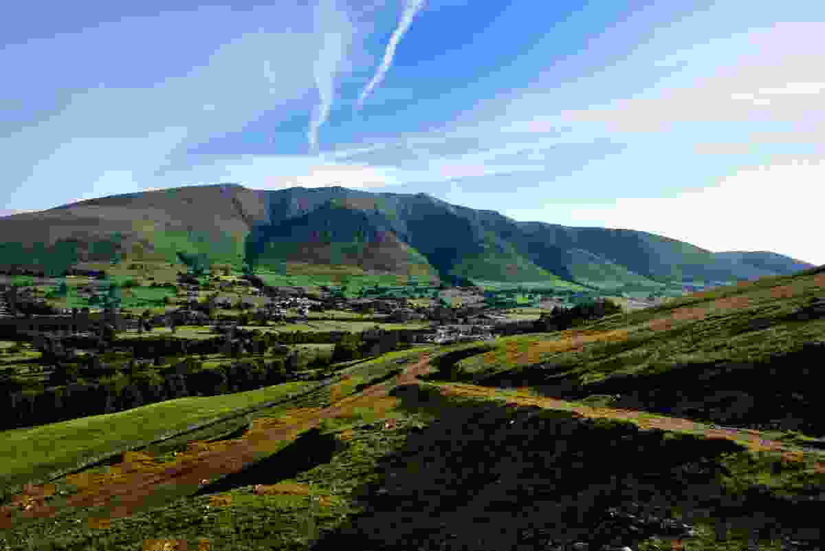 The ridges of Blencathra, above Threlkeld, in the Lake District, Cumbria (Dreamstime)