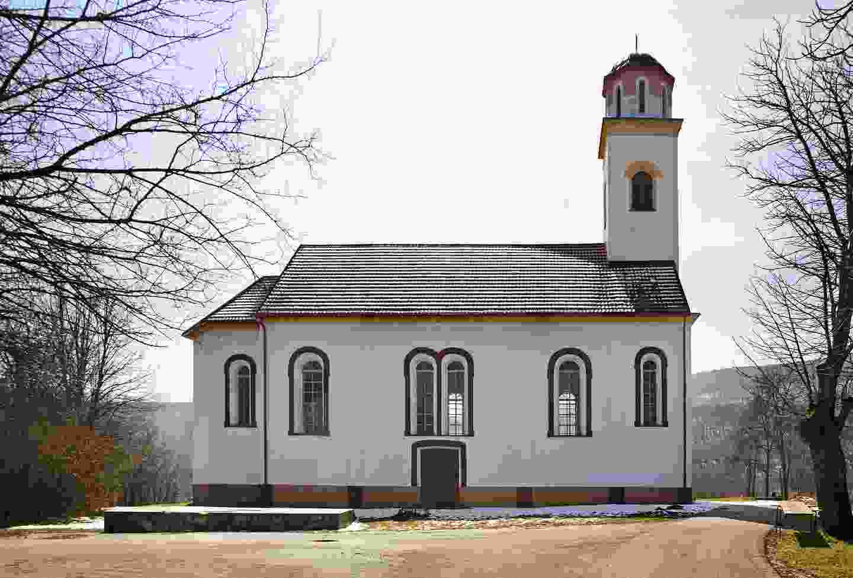 A church in Ličko Petrovo Selo, Croatia (Shutterstock)