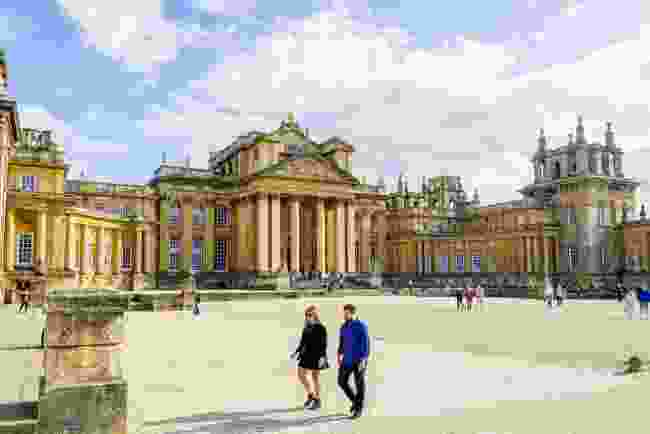Blenheim Palace grounds (Shutterstock)