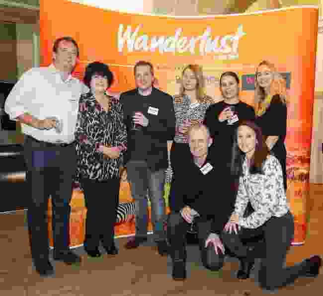 Of course, team Wanderlust were there, too... equally enthralled by Sue's amazing speech! (Victoria Middleton)