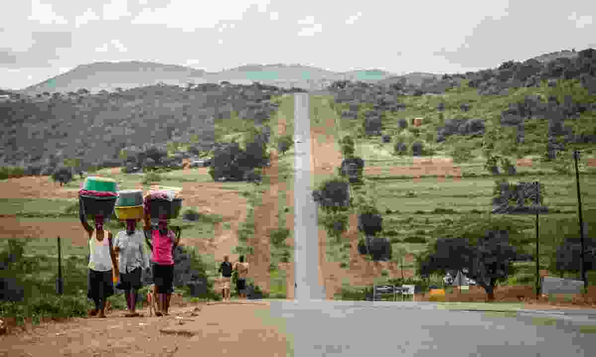 The rolling landscape of Swaziland (Allan Dransfield)