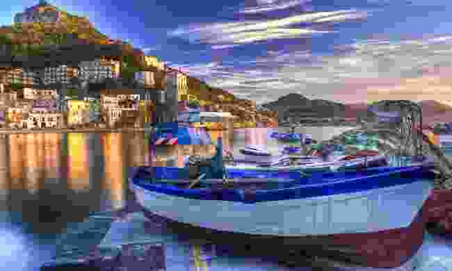 Cetara fishing village on the Amalfi Coast (Dreamstime)