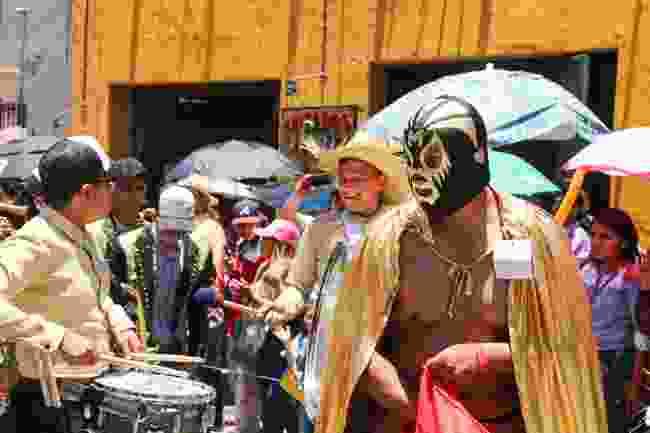Locals during Dia de los Locos, San Miguel de Allende, Mexico (Graeme Green)