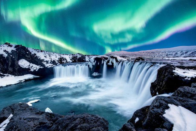Водопады Исландии. 1