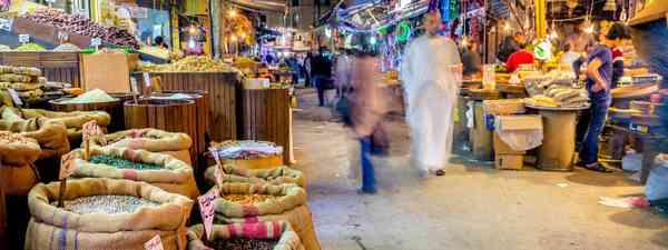 Amman, Jordan at night (Shutterstock)