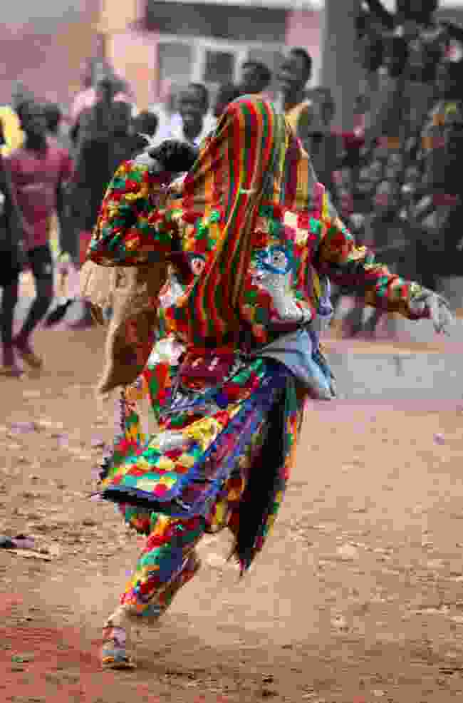 A dancer at Benin Voodoo Festival (Shutterstock)