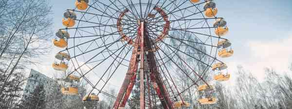 A theme park in abandoned Pripyat, Ukraine (Shutterstock)