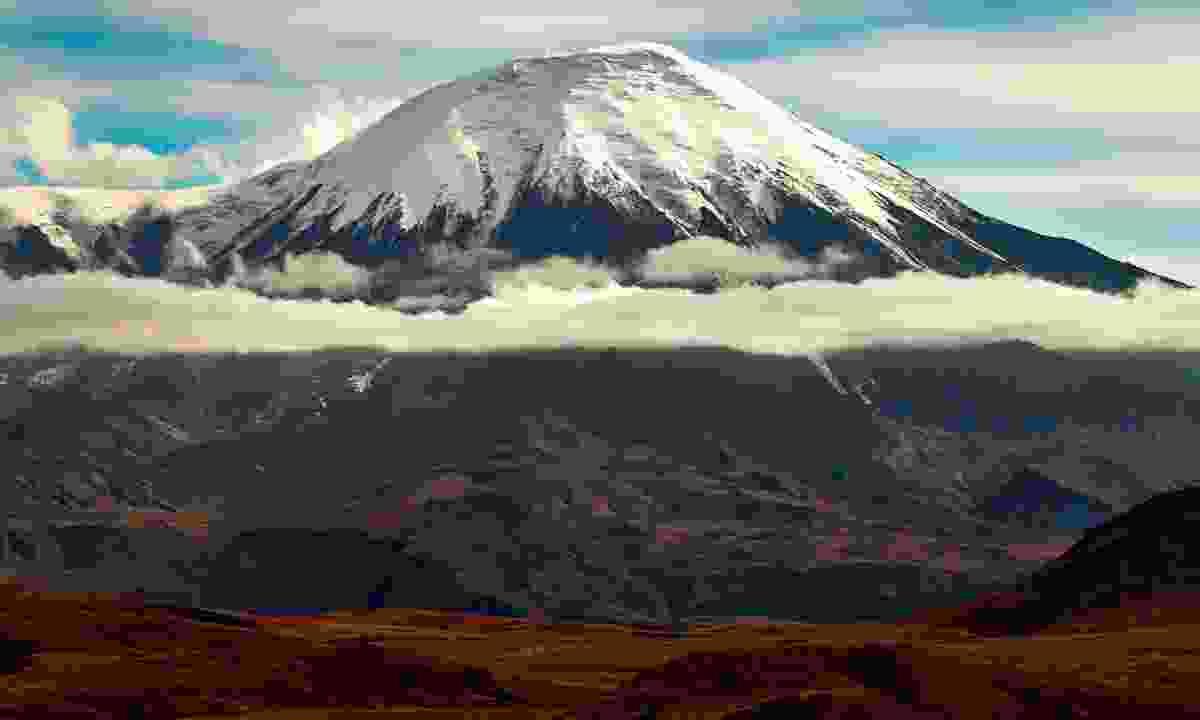 Tolbachik volcano in late autumn  (Dreamstime)
