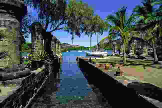 Nelsons Dockyard in English Harbour on Antigua (Shutterstock)
