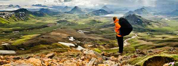 The view over Laugavegur, Iceland (Shutterstock)
