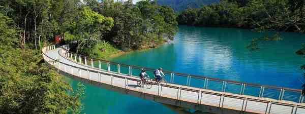 Cycle routes in Taiwan ((Taiwan Tourism Bureau)
