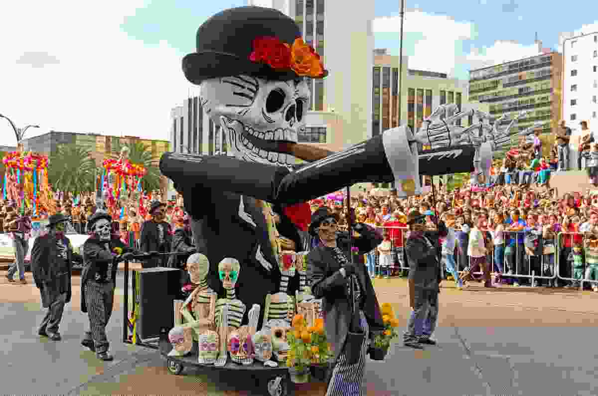 The Dia De Muertos, Mexico City, Mexico (Shutterstock)