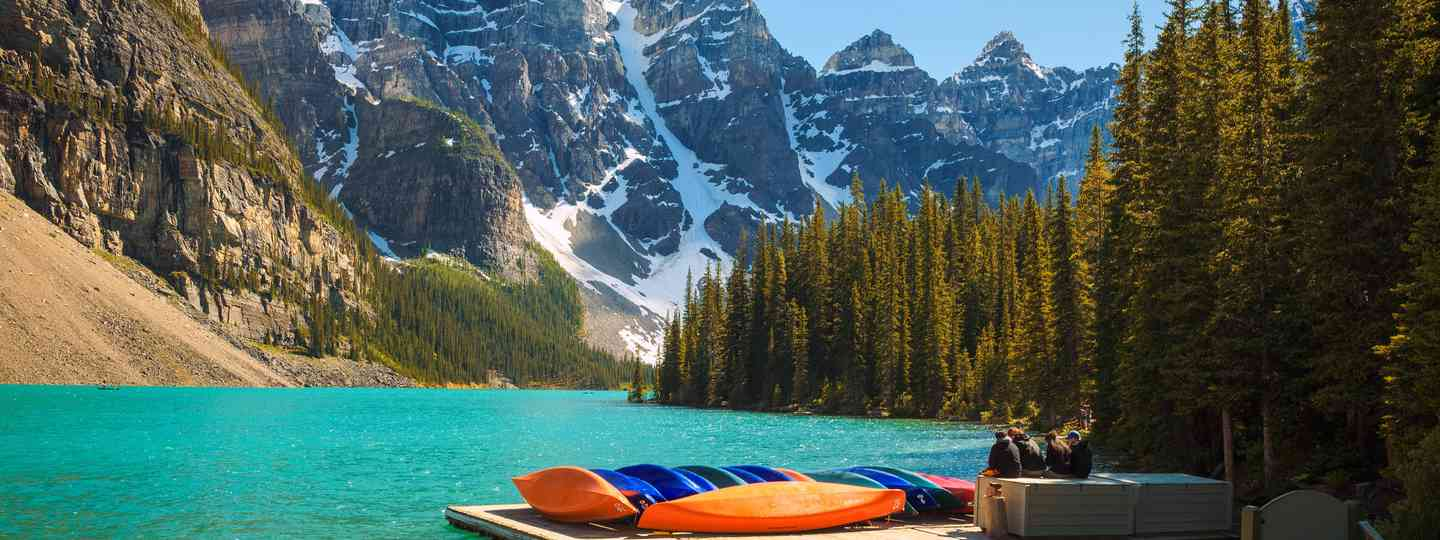 Moraine Lake (Dreamstime)