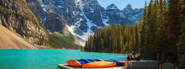 Moraine Lake (Dreamstime)