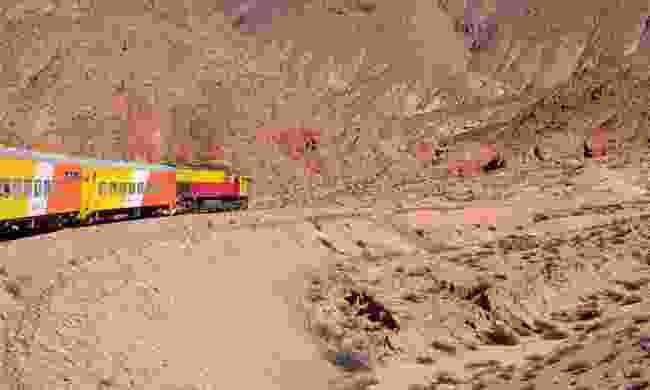Tren a las Nubes (Dreamstime)
