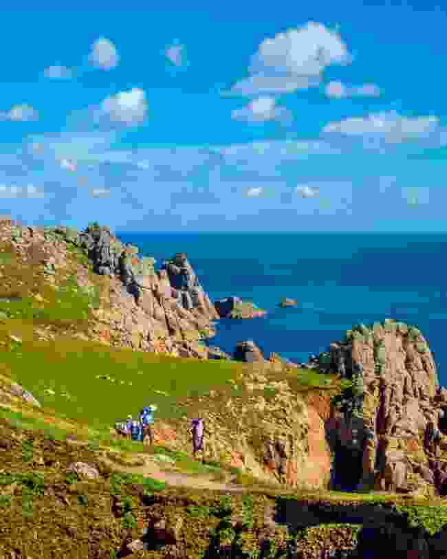 Hikers on the South West Coast Path (Dreamstime)
