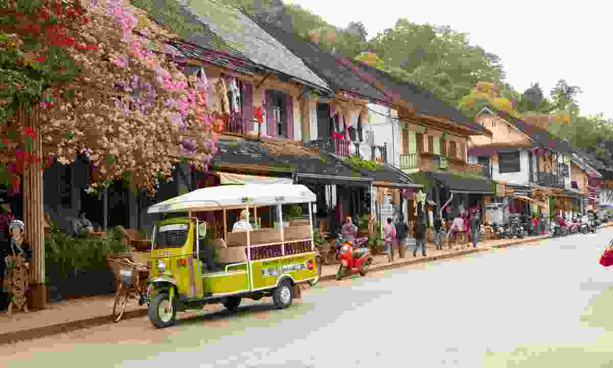 The quiet old town in Luang Prabang (Dreamstime)