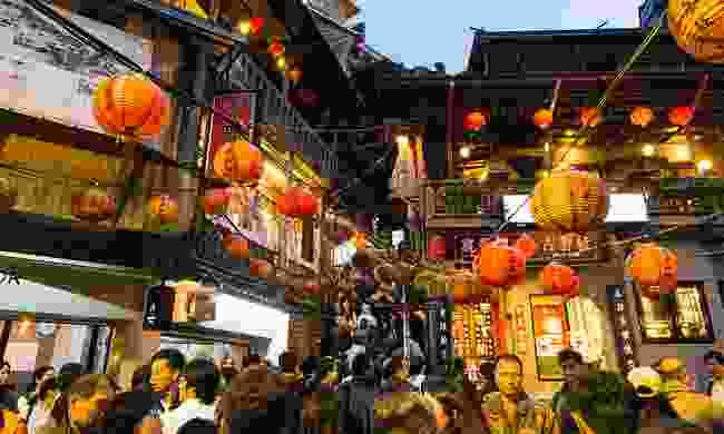 Jiufen old street (Shutterstock)