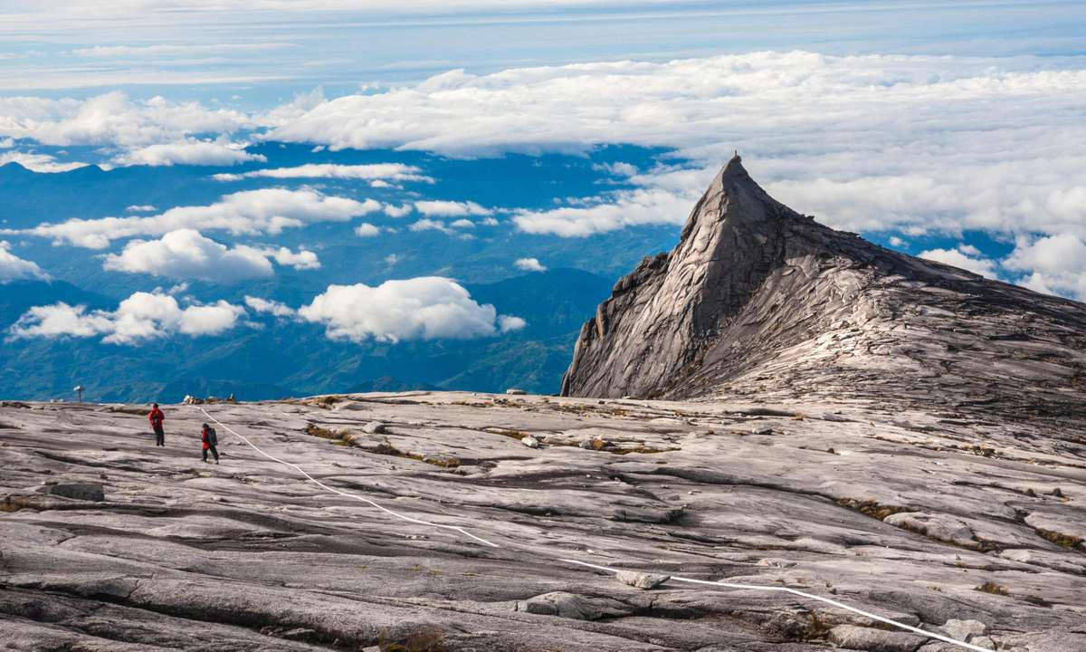 Approaching the summit of Mount Kinabalu (Dreamstime)