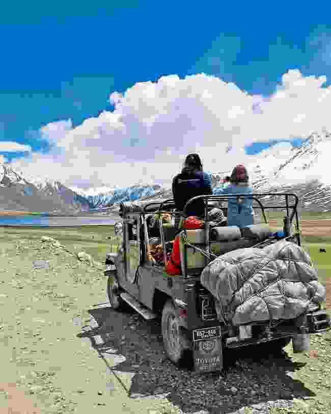 Crossing through Shandur Pass (Emma Thomson)