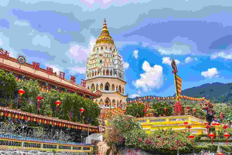 Kek Lok Si Temple on Penang Island, Malaysia (Shutterstock)