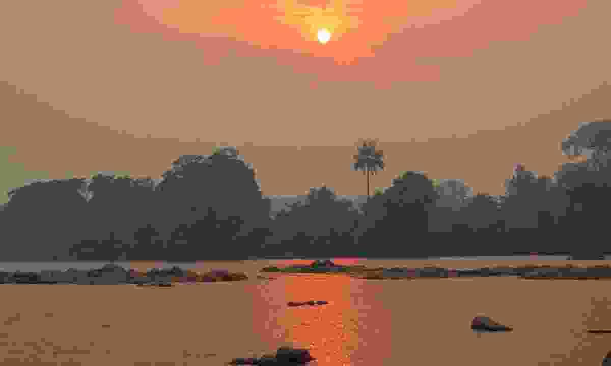 A sunset over Tiwai National Park (Shutterstock)