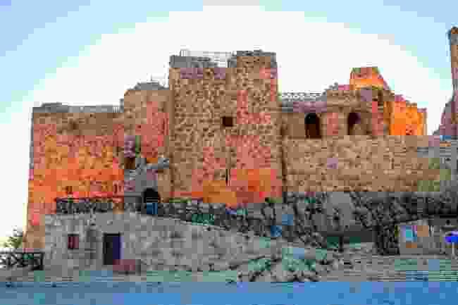 Aljoun Castle in the fading sun (Shutterstock)