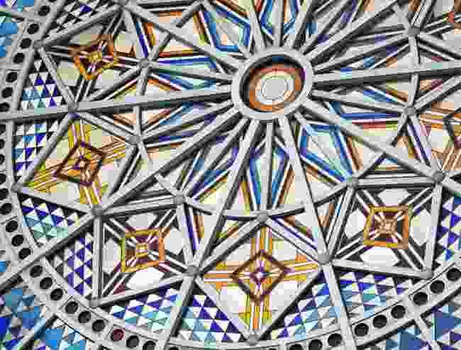 A close up of Alexandra Palace's window (Shutterstock)