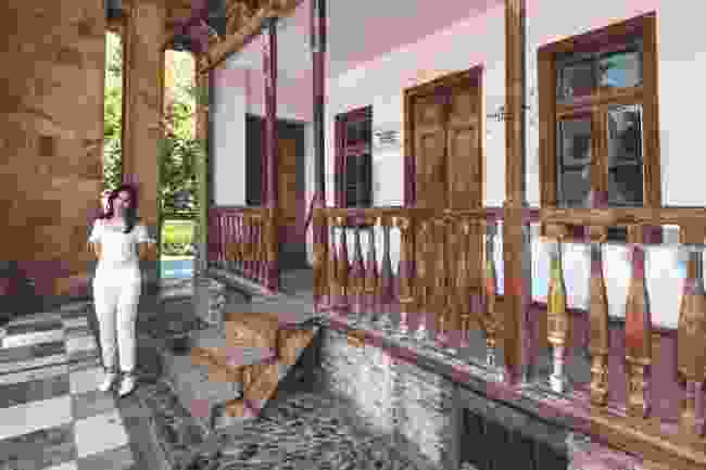 The humble house where Stalin was born, Stalin Museum (Scott Bennett)