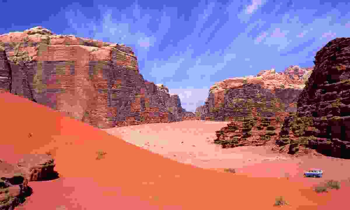 Wadi Rum (Dreamstime)