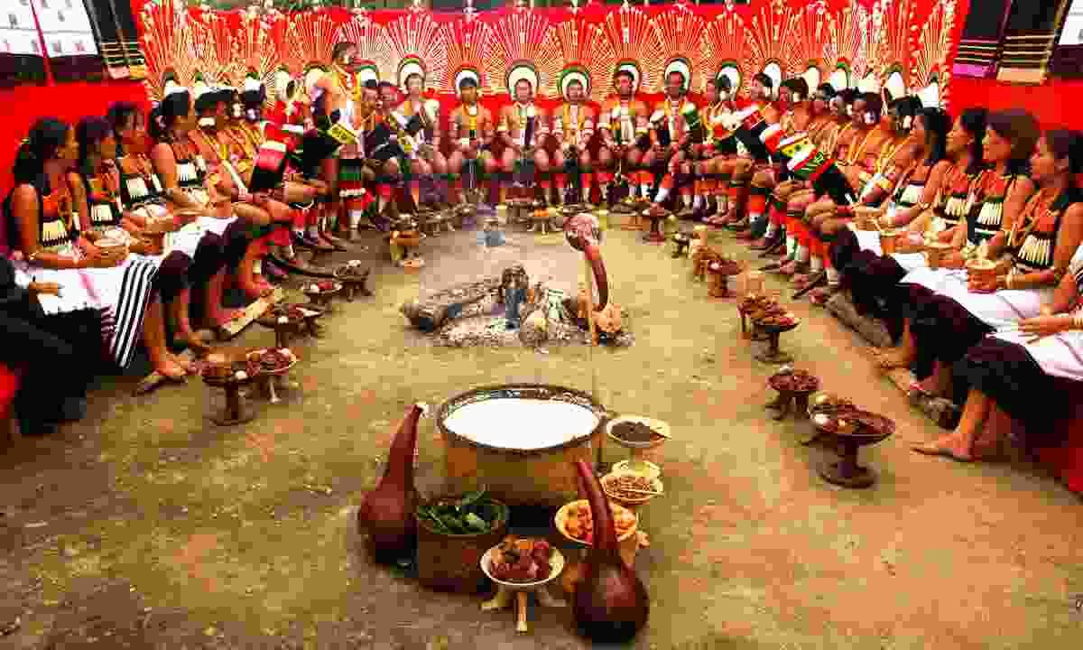 Hornbill Festival in Nagaland (Dreamstime)