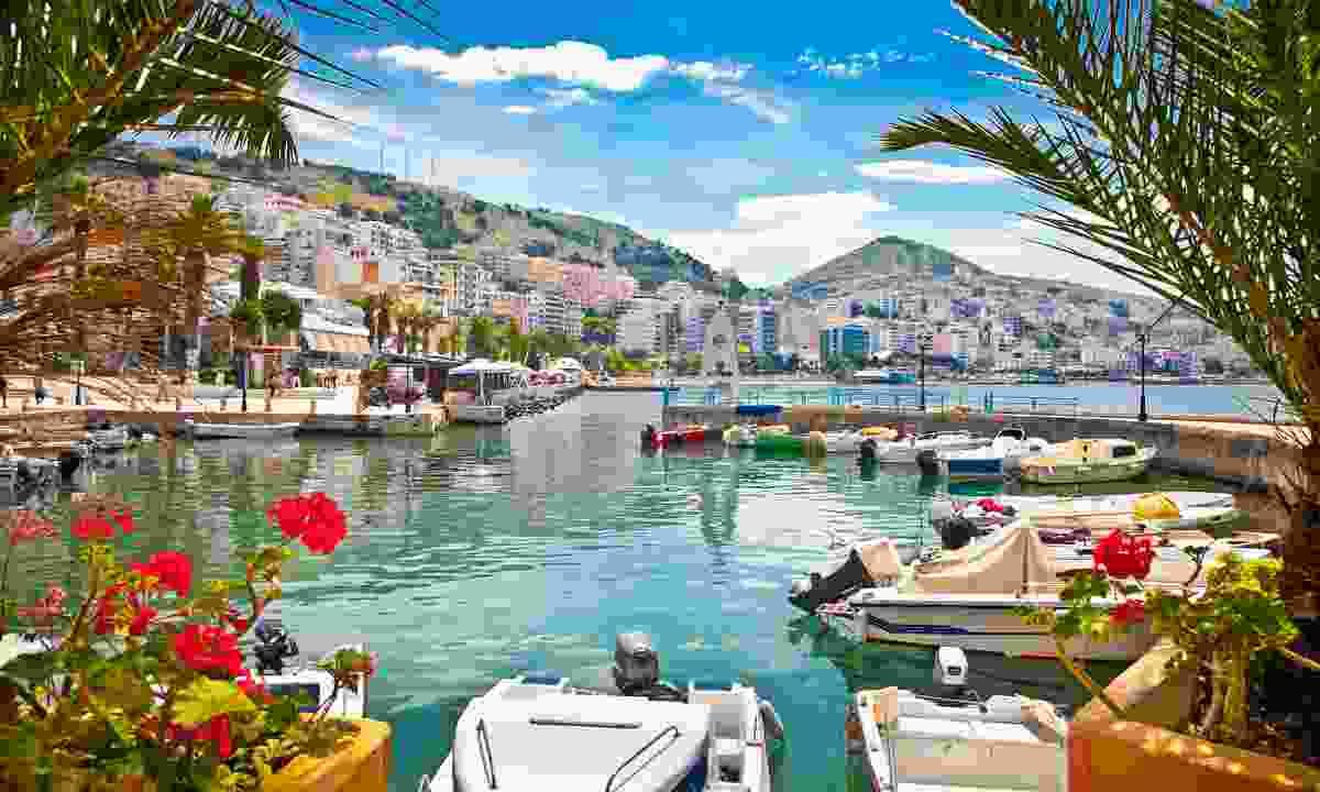 A coastal port in Albania (Shutterstock)