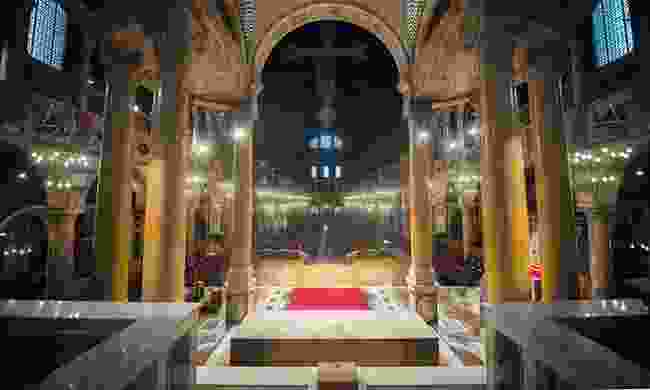 Inside Westminster Cathedral (Christopher Sommerville)