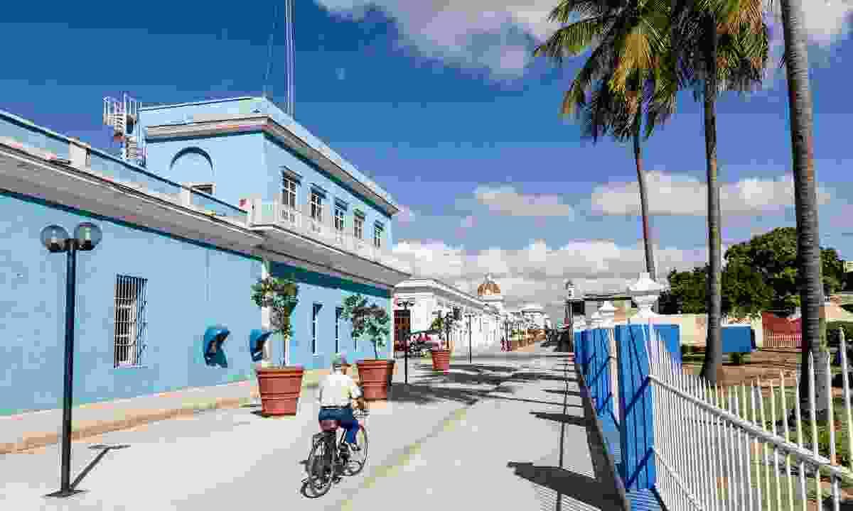 Cycling in Cienfuegos, Cuba (Dreamstime)
