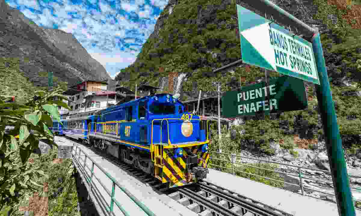 Cusco train, Peru (Dreamstime)
