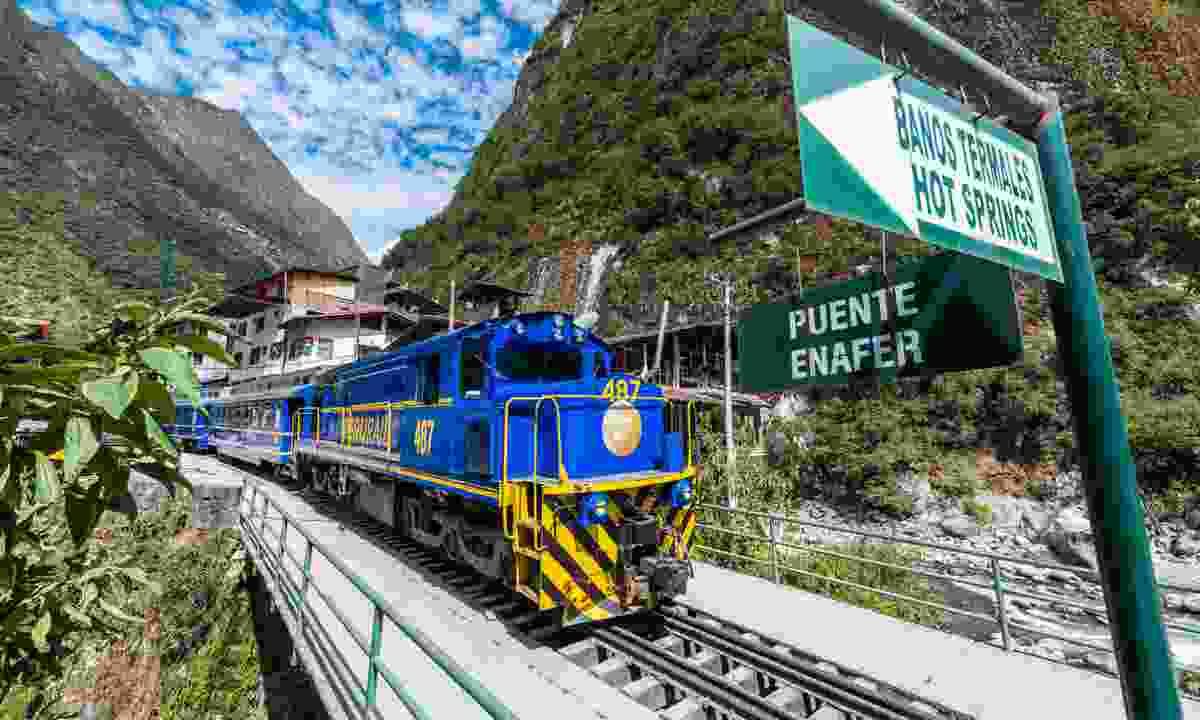 Cusco train, Peru (Dreamstime)