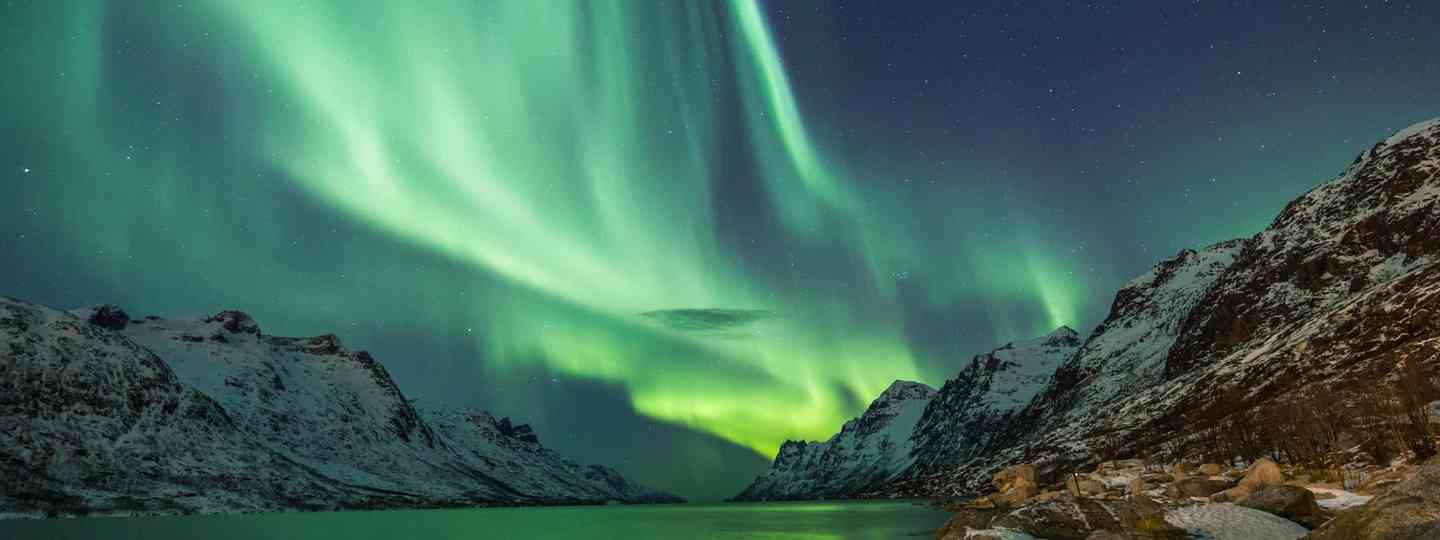Northern lights over Tromso, Norway (Dreamstime)