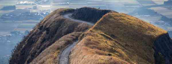 The road to nowhere, Aso (Kyushu Tourism Board)