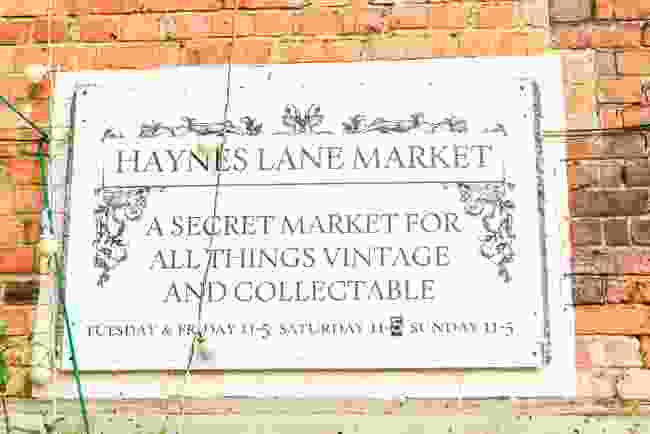 Haynes Lane, the secret market in Crystal Palace (Shutterstock)