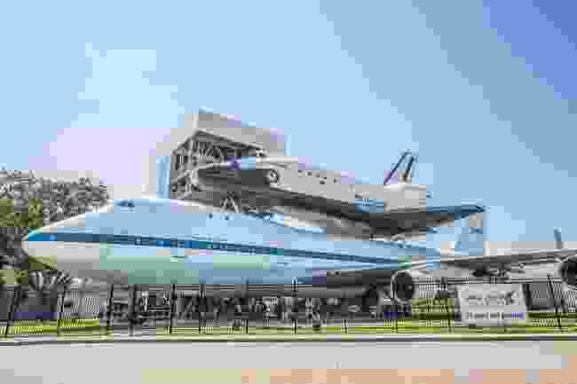 Space Shuttle Independence, Lyndon B. Johnson Space Centre, Houston (Shutterstock)