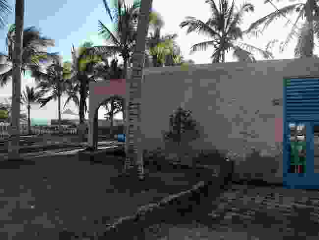 The apartment Ian rents on Isabela Island (Ian Melvin)