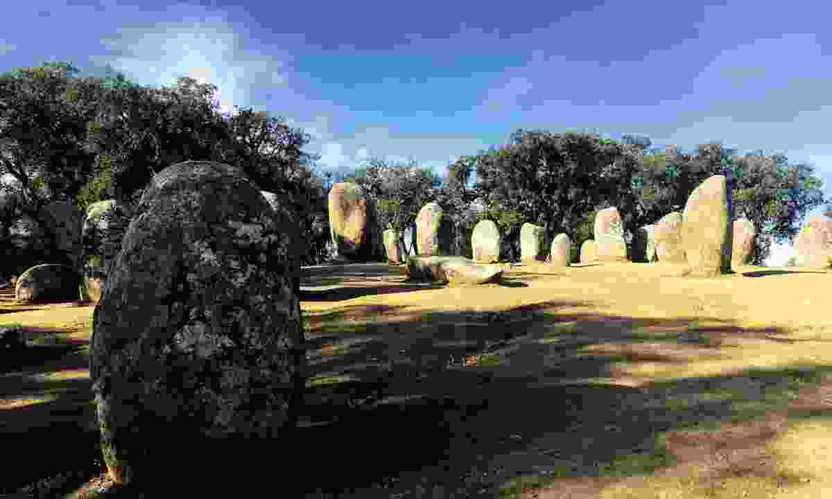 Cromlech of the Almendres (Lyn Hughes)