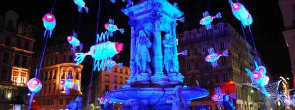 Fête des Lumières, Lyon, France (Shutterstock)