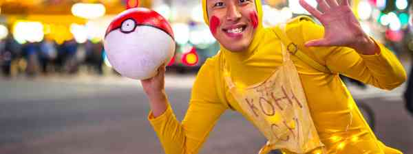 Man dressed up as Pikachu in Tokyo (Dreamstime)