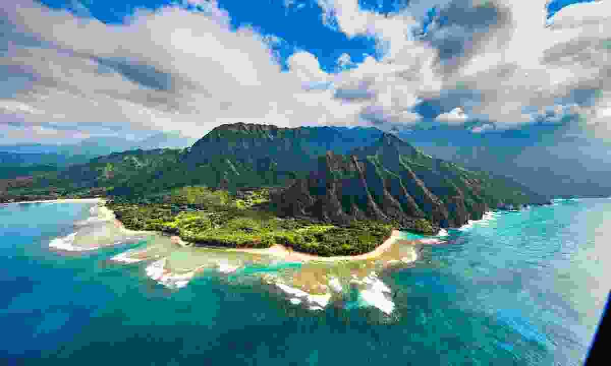 Earnst Hemmingway branded the Pacific islands a 'dung heap' (Shutterstock)