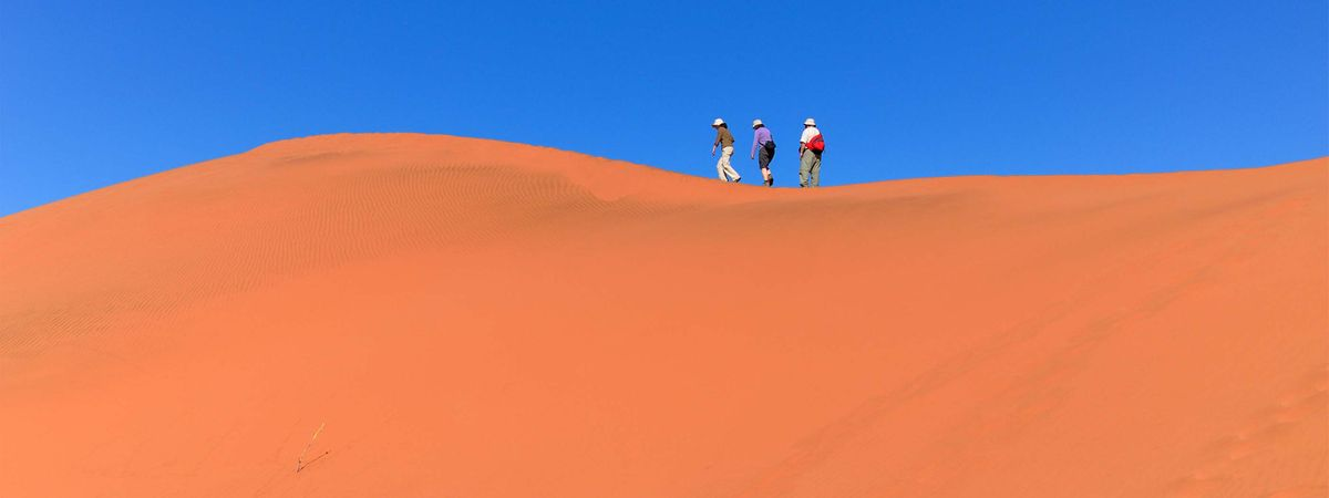 6 reasons you should challenge yourself with a charity trek in Namibia